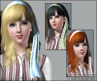 Sims 3 Updates Downloads Fashion Hair Page 1