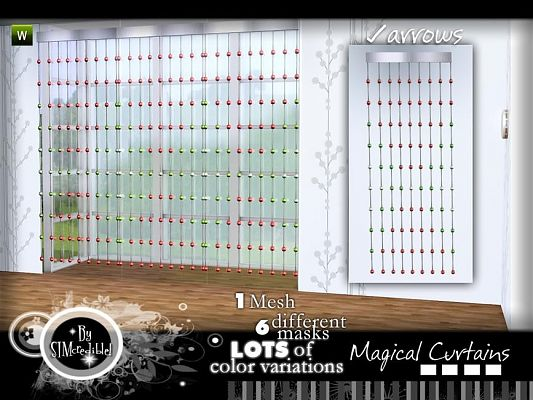 Sims 3 Updates The Sims Resource Magical Curtains By Simcredible At Tsr